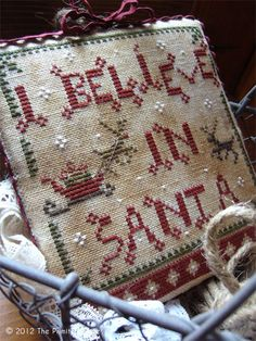 The Primitive Hare: I believe in Santa... Love, love, love this one. Did I say I love it?!!