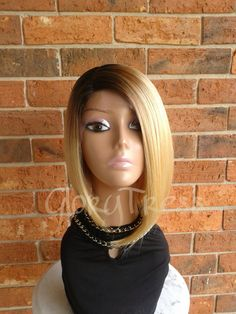 ON SALE // Beyonce Inspired Short Bob Wig Ombre by GloryTress