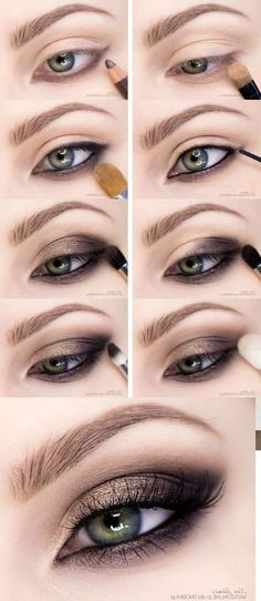 How To Create Smokey Eye Makeup 10 Gold Smoky Eye Tutorials For Fall Pretty Designs. How To Create Smokey Eye Makeup Best Smokey Eye Makeup. How To Create Smokey Eye Makeup How To Apply Eyeshadow Smokey Eye Makeup Tutorial For… Continue Reading → Make Up Tutorials, Makeup Tutorial For Beginners, Everyday Makeup Tutorials, Beauty Tutorials, Green Eyes Pop, Hazel Green Eyes, Professionelles Make Up, Make Up Steps, Smoky Eye Makeup Tutorial