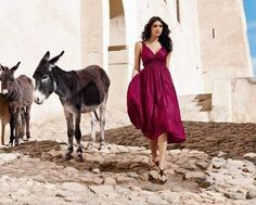 dress from Anthropologie's Morocco shoot