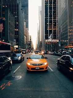 Taxi in New York City / Now you can click to buy my print!