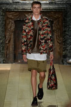 Valentino Spring-Summer 2015 Men's Collection