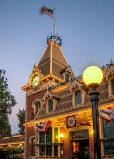 Disneyland Railroad Station #Disneyland