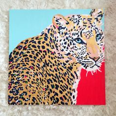 Looking At You, Leopard Original Painting by Megan Carn Painting Inspiration, Art Inspo, Design Inspiration, Art Alevel, Original Paintings, Original Art, Dorm Art, Animal Paintings, Colorful Paintings