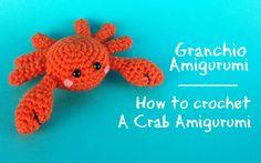 Granchio amigurumi | How to crochet a Crab Amigurumi