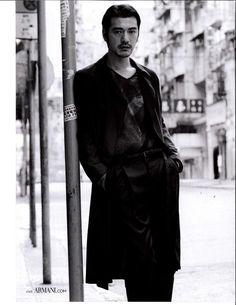 Takeshi Kaneshiro for EMPORIO ARMANI CHINA S/S 12