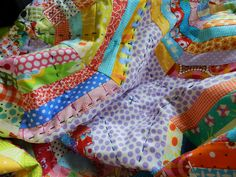 Love the Big stitch quilting