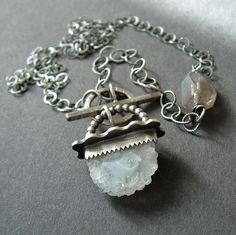 ICY Captured Quartz Necklace by artdi