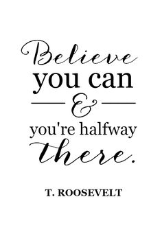 teddy roosevelt believe you can and youre halfway there quote.png - Box