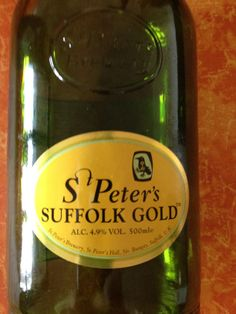 St Peters Suffolk Gold  Brewed by St Peters (UK) Style: Premium Bitter/ESB Bungay, England