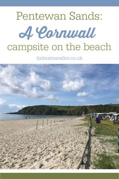 [AD Press Trip] If you are looking for a campsite in Cornwall on the beach then they don't come much closer than Pentewan Sands Holiday Park nr St Austell. Here's a review of this 5 star campsite which has facilities for tents and touring caravans, plus holiday homes #Cornwall #onthbeach #England #holiday #weekendaway #familytravel #campsite #holidaypark #review #travel #travelinspiration #familyholiday #beach Family Camping, Family Travel, Travel Uk, Winter Camping, Travel Tips, Cornwall Campsites, Holidays In Cornwall, Family Friendly Resorts, Holiday Park