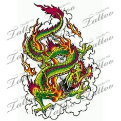 Looking for the perfect tattoo design? Here at Create My Tattoo, we specialize in giving you the very best tattoo ideas and designs for men and women. We host over unique designs made by our artists over the last 8 y Dragon Tattoo Flash, Create My Tattoo, Flame Tattoos, Dragon Artwork, Dragon Tattoo Designs, Desenho Tattoo, Flash Art, Custom Tattoo, Tattoo Sketches