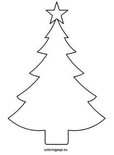 Christmas tree template printable:                                                                                                                                                                                 More