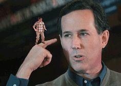 Dancing on Rick Santorum: