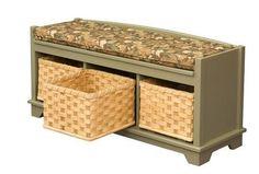 AJW1LWB Lattice Weave Storage Benches