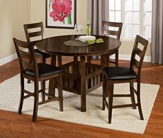 Dining Room Furniture-The Harbor Pointe Collection-Harbor Pointe Counter-Height Table Glass Dining Room Table, Dining Table With Bench, Counter Height Dining Table, Dining Room Sets, Dining Room Furniture, Cool Furniture, Kitchen Tables, Value City Furniture, Coffee And End Tables