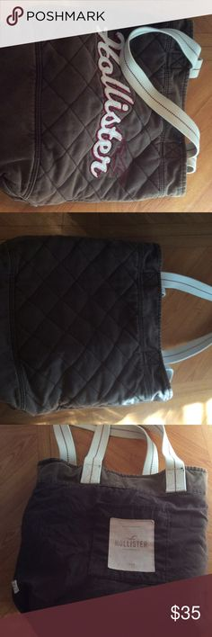 Hollister bag Brown hollister bag Hollister Bags Travel Bags