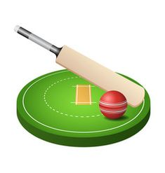 cricket field with green grass red ball and vector image on VectorStock Free Vector Images, Vector Free, Stadium Wallpaper, Red Grass, Background For Photography, Cricket, Royalty, Green, Cricket Sport