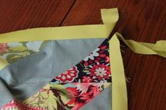 Tutorial: How to Miter a Double Border | Salt Marsh Designs
