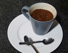 A healthy addictive chocolately mug cake! Takes 10 minutes to make!