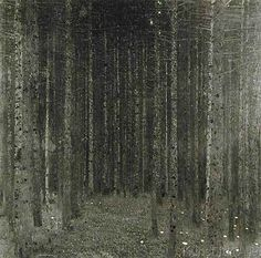 Gustav Klimt - Fir Forest I, 1909