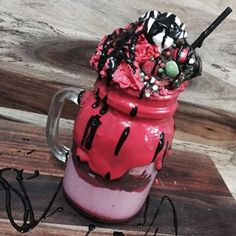 The Fat Santa Milkshake from The Koffee Bar,