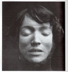 The eerie death mask of valet Francois Courvoisier [who on May 5, 1840, murdered Lord William Russell], taken after his execution by hanging in 1840 and exhibited in Madame Tussaud's 'Chamber of Horrors' well into the 20th century.