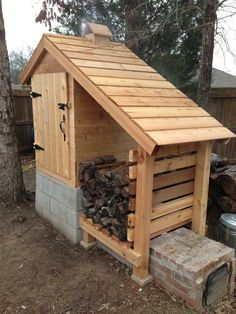 Cold Smokehouse | Thanks to Smoking Meat Forums for this great project. You can get step ...