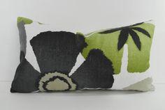 """Designer Robert Allen at Home Pinwheel Petals Pillow Cover, Lumbar Throw Pillow Cushion, 12"""" x 20"""""""