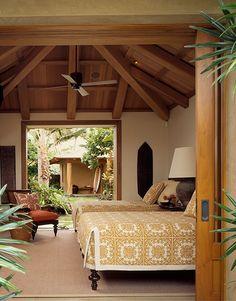 Inspiração indiana no quarto.  Fotografia: http://www.walker-warner.com