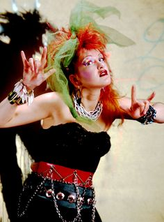 Dear Cyndi Lauper, I want to grow up and be like you.