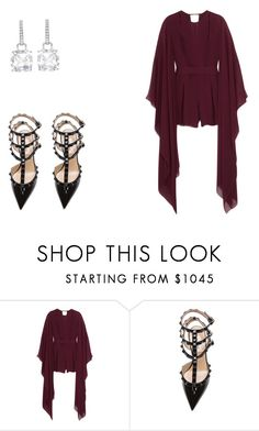 """""""231 outfit"""" by julieannbb13 ❤ liked on Polyvore featuring Emilio Pucci and Valentino"""