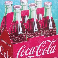 Invigorate your home with a refreshing pop-art print! See more collectible art at http://www.2collectcola.com/cocacola/art.html