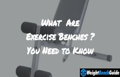 If you want to buy a new exercise bench, you have to learn all about it. Here we shared all essential things about these benches. Weight Benches, Exercise, Gym, Ejercicio, Tone It Up, Work Outs, Training, Sports, Gymnastics Room