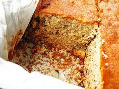 Edna Staebler's Banana Cake Recipe (adapted) from Food That Really Schmecks. Take The Cake, Delicious Food, Banana Bread, Cake Recipes, Cakes, My Favorite Things, Birthday, Desserts, Dump Cake Recipes