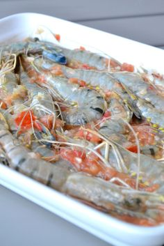 recette plancha DIY Craft Ideas diy craft ideas for kids Shellfish Recipes, Seafood Recipes, Bbq Grill, Barbecue Weber, Fish And Seafood, Food Design, Food Inspiration, Food Videos, Love Food