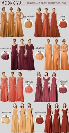 WedNova bridesmaid dresses over 80 colors for you to choose WedNova bridesmaid dresses over 80 colors for you to choose Pink Bridesmaid Dresses Short, Fall Wedding Bridesmaids, Bridesmaid Dress Colors, Bridesmaid Gowns, Prom Dresses, Burnt Orange Bridesmaid Dresses, Evening Dresses, Wedding Dresses, Summer Wedding