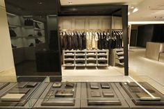 Givenchy shop in shop at Hankyu Men's store, Tokyo store design