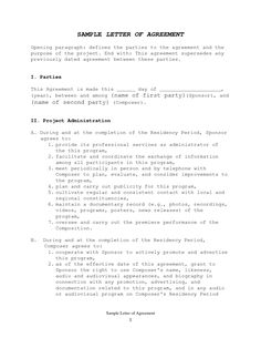 Printable Sample Personal Loan Agreement Form  Basic Template For