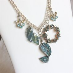 Upcycled Vintage Jewelry / Upcycled by WhenLifeHandsULemons, $175.00