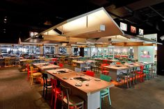 Coca Grill restaurant by Integrated Field, Bangkok hotels and restaurants
