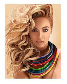 Beyonce On The Sun by fabulosity.deviantart.com on @deviantART