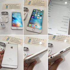 """iPhone 6 Plus 16GB Silver TH สภาพสวยคบ ราคาโดน 18500 สภาพโดยรวม 93% การใชงานปกต ไมตดอะไรทงนน Line Id:kingphonesarakham #iphone6plusgold #iphone6plusonly #iphone6plushk #iphone6plusforsale #iphone6plussale #kingphone #iphone5s #iphoneonly #iphone #apple #iphonemurah #ตาม #ไอโฟนมอสอง #ไอโฟนราคาถก #ไอโฟน #ไอโฟน5 #iphoneforsale #iphoneography #iphoneogram #iphonekingphone #iphone3g #iphone6s #iphone6plusforsale #iphone6splus by kingphonesarakham Follow """"DIY iPhone 6/ 6S Plus Cases/ Covers…"""