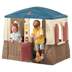 You should see this Neat & Tidy Playhouse in Blue & Tan on Daily Sales!
