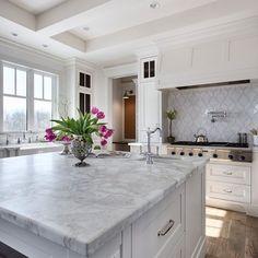 Hood inspiration for the white kitchen – Greige Design