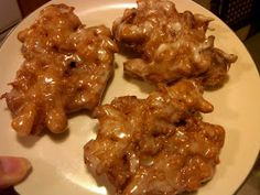 I Should Be In The Kitchen: Apple Fritters
