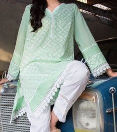 Women S Fashion Over The Decades Pakistani Fashion Casual, Pakistani Dresses Casual, Pakistani Dress Design, Pakistani Couture, Indian Fashion, Kurti Neck Designs, Kurta Designs Women, Dress Neck Designs, Designer Party Wear Dresses