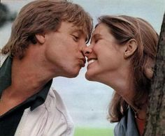 """"""" (Mark Hamill and Carrie Fisher play-kissing) Mark Hamill Carrie Fisher, Carrie Frances Fisher, Star Wars Cast, Images Star Wars, The Blues Brothers, I Love Cinema, Matou, Star War 3, Love Stars"""