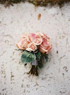 Pink beach wedding bouquet