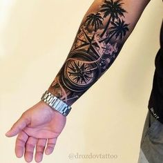 Compass Tattoo Ideas For Men – Best Tattoo Ideas For Men: Cool Tattoos For Guys – Find Badass Designs and Drawings For Inspiration tattoos tattoosfo… Forarm Tattoos, Forearm Sleeve Tattoos, Best Sleeve Tattoos, Tattoo Sleeve Designs, Tattoo Designs Men, Leg Tattoos, Small Tattoos, Forearm Tattoos For Men, Tatto For Men